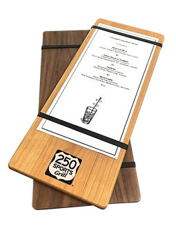 Solid Wood Menu Boards
