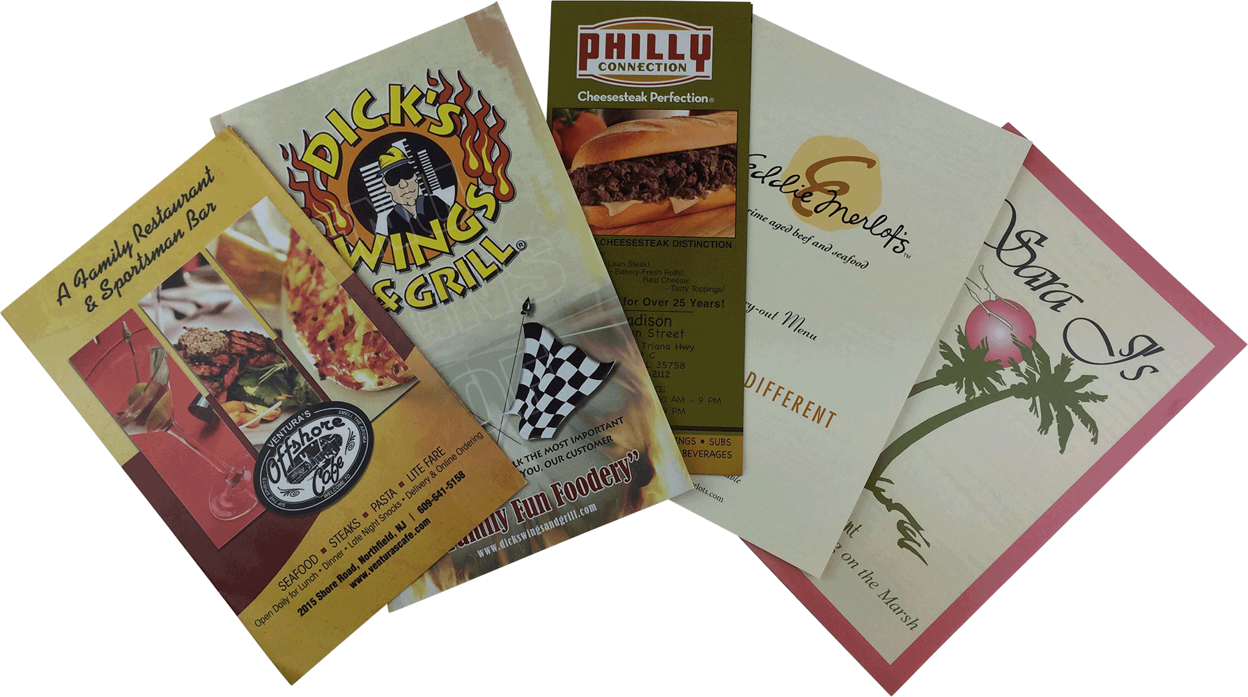Printed Takeout Menus - Dobbs Global