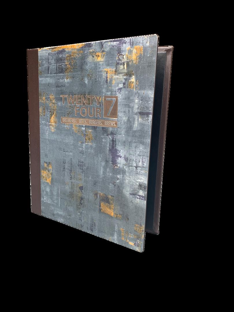Bullet Board Menu Covers by Menu Designs