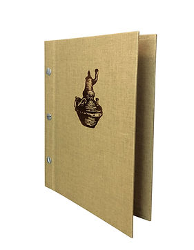 Linen Menu Covers