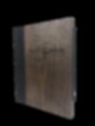 Wood Menu Covers by Menu Designs