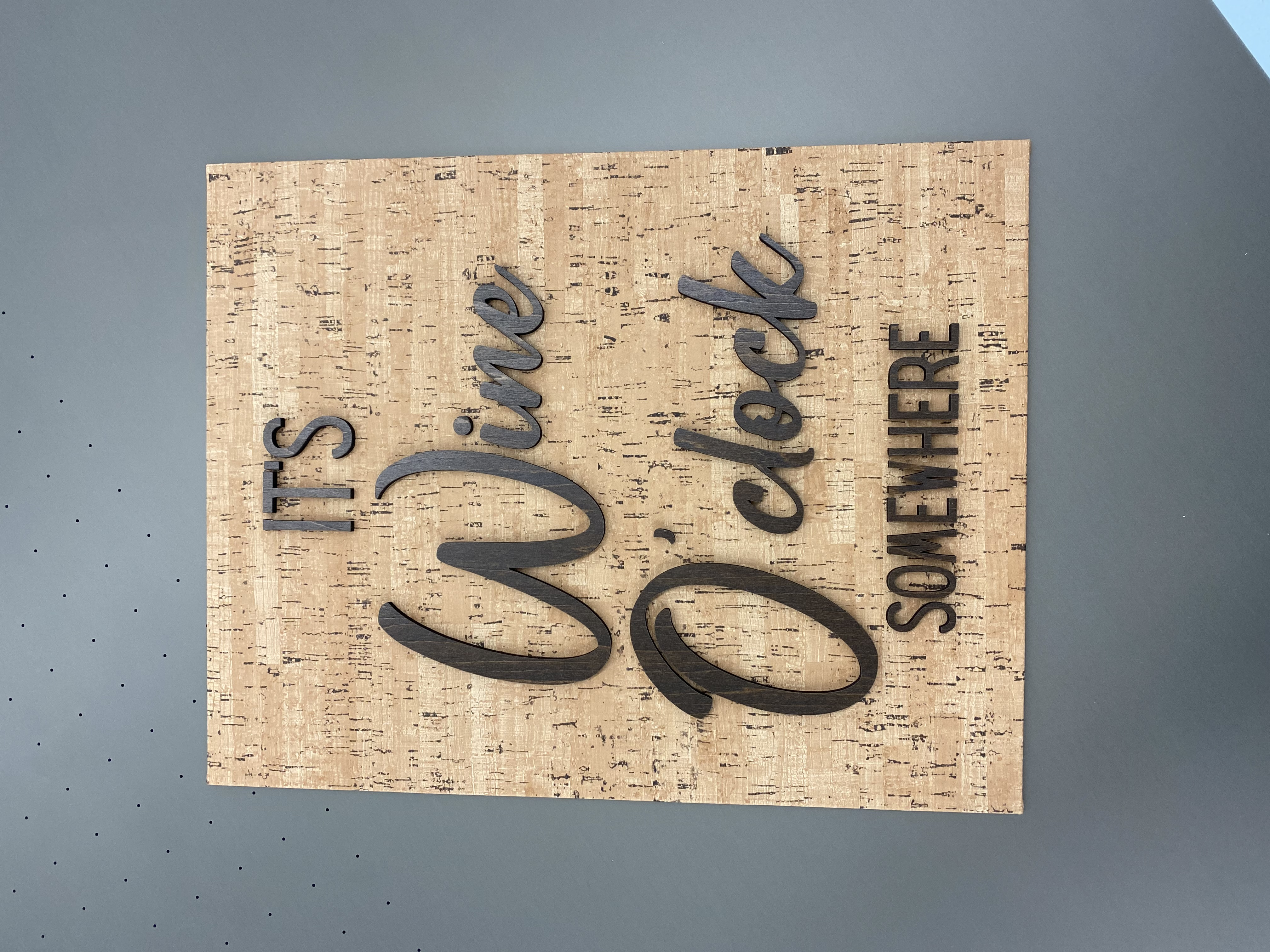 Cork Signs