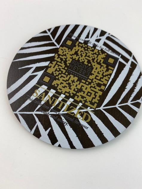 QR Code Coaster