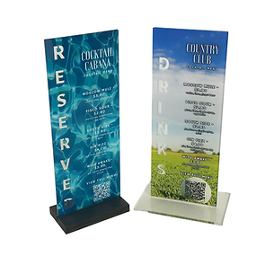 Acrylic QR Code Stands