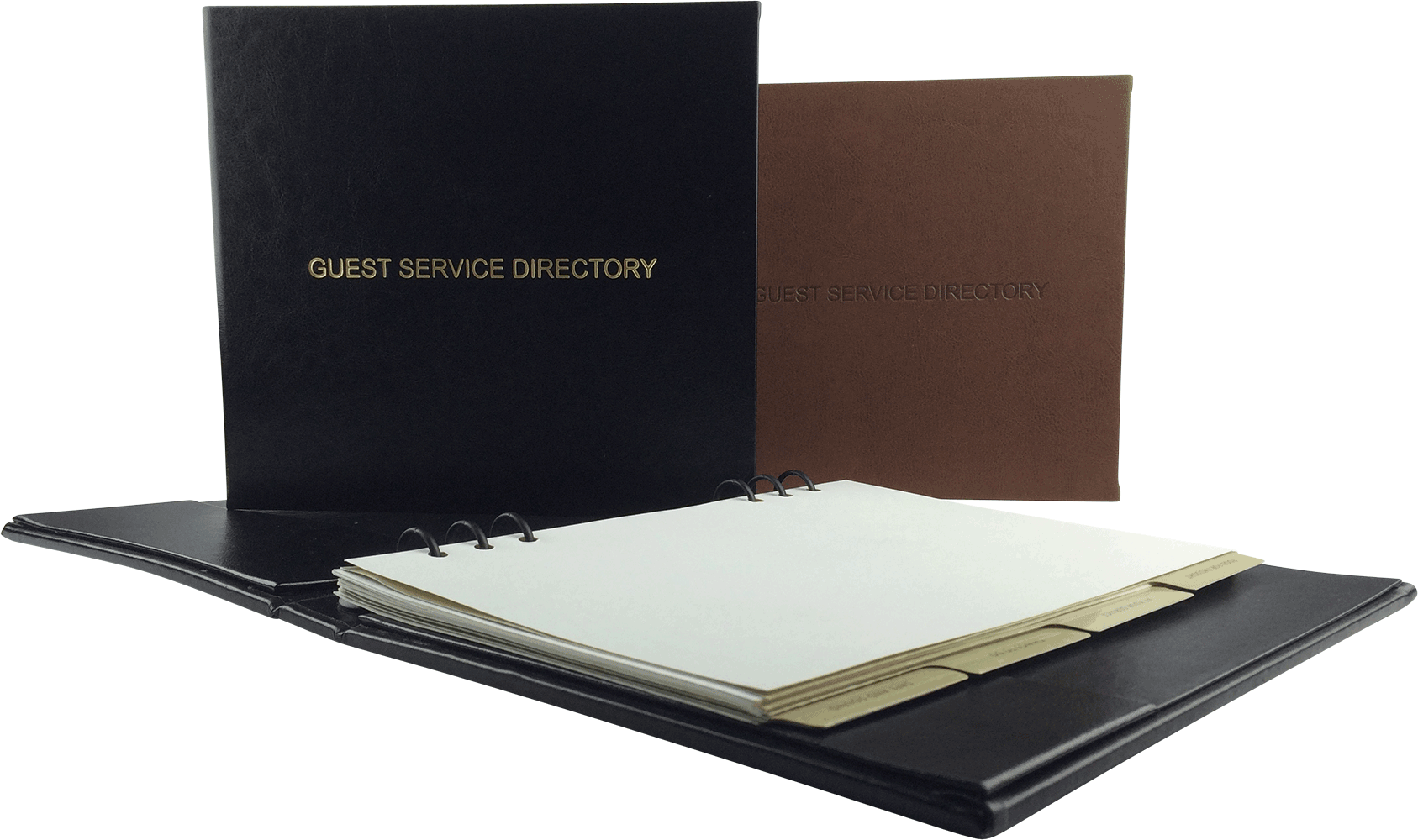 Guest Directories by Menu Designs