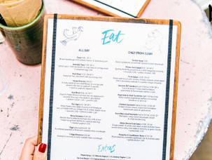 How to Create a Custom Menu Design