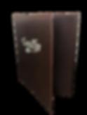 Simulated Leather Menu Cover 410533