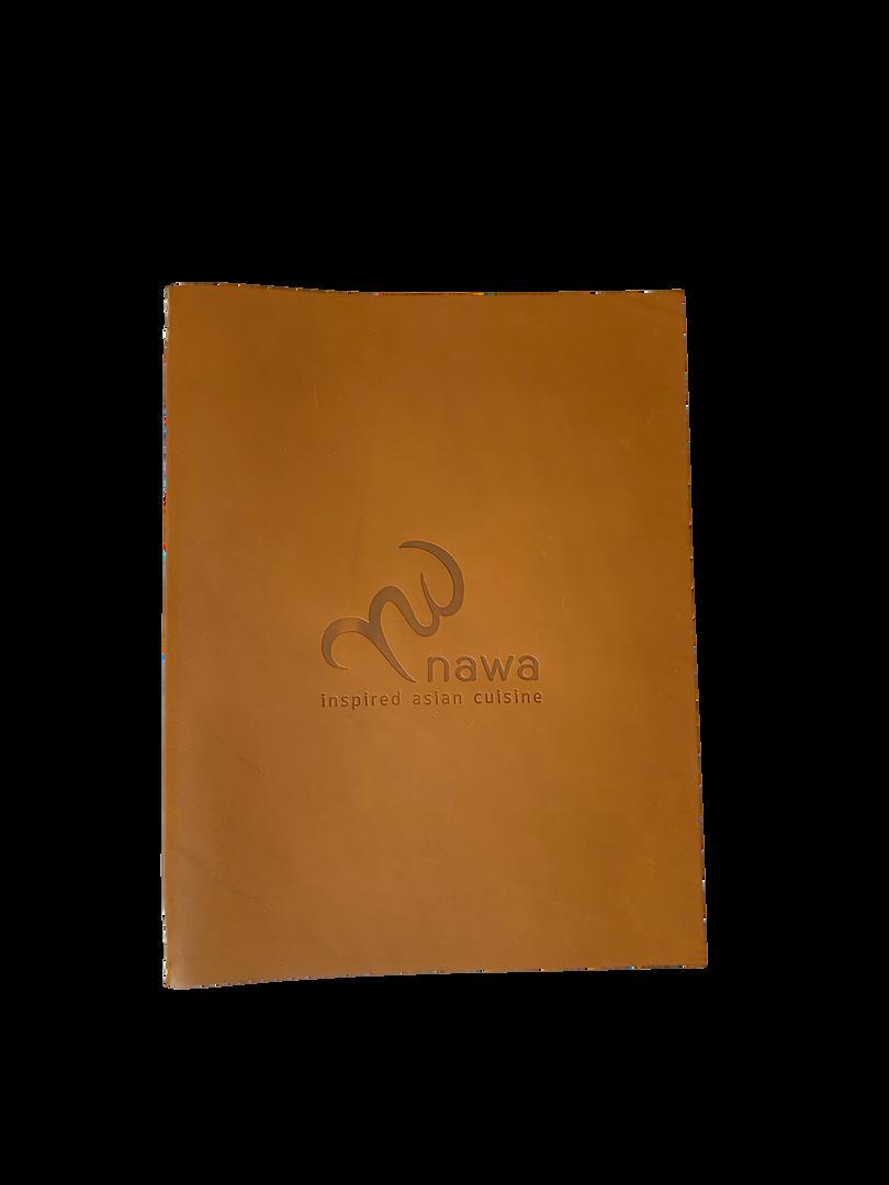Genuine Leather Menu Covers