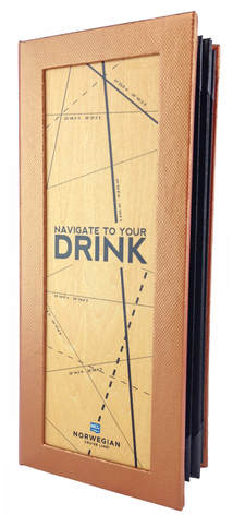 Cruise Line Drink Books