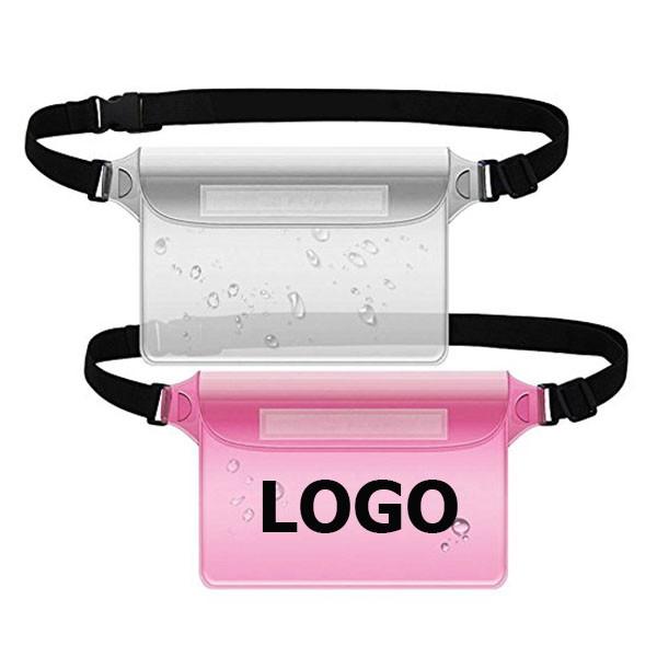 logo on fanny pack