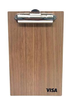 visa bullet clipboard