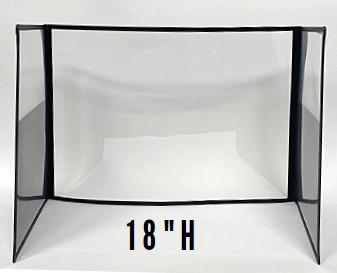"""DeskShields -18""""H"""