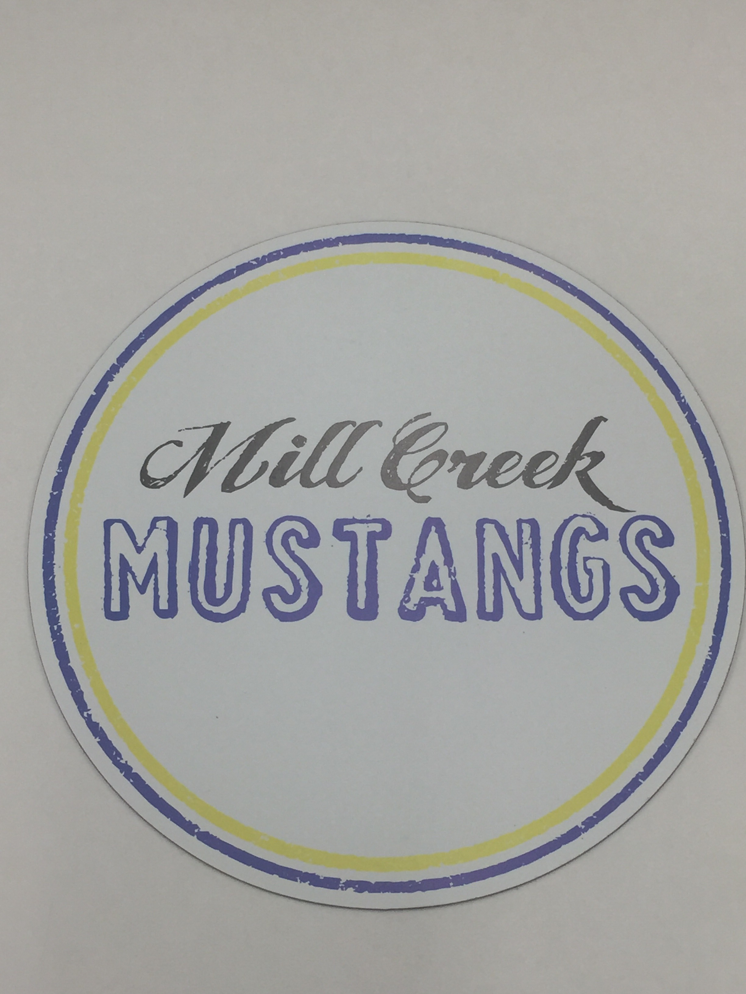 Mill Creek Mustangs Sticker
