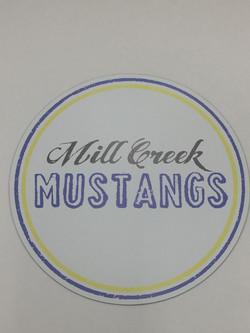 Mill Creek Mustangs Sticker