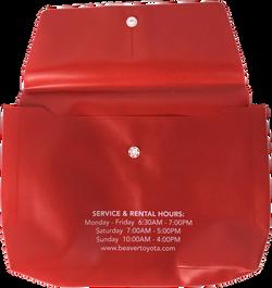 Automotive Service Envelope (Back)