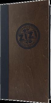 Wood Menu Covers