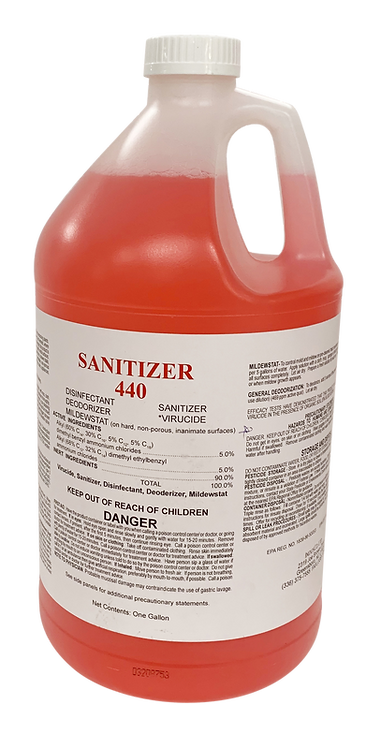 Sanitizer 440 - Gallons