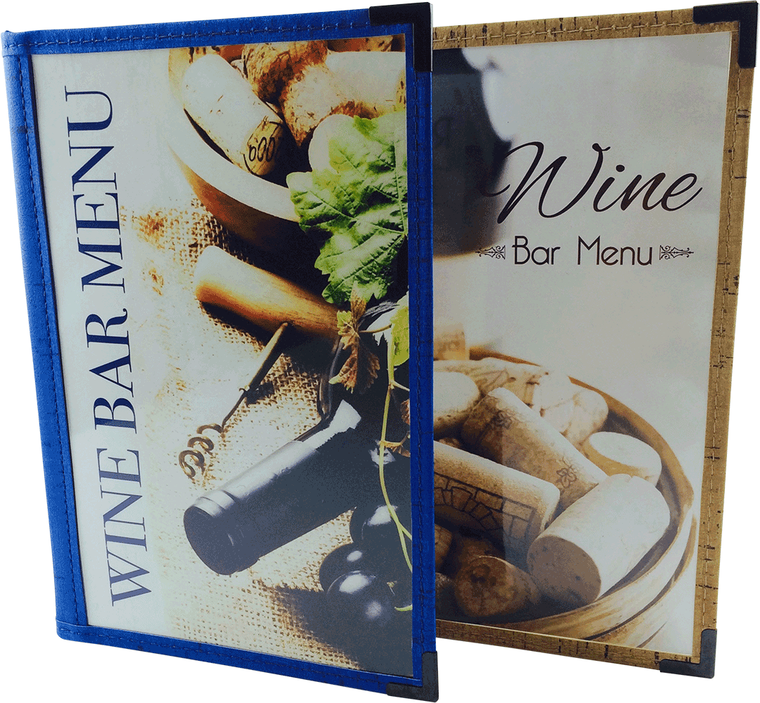 Cafe Menu Cover | Faux Cork