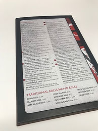 Menu Designs Interior Options