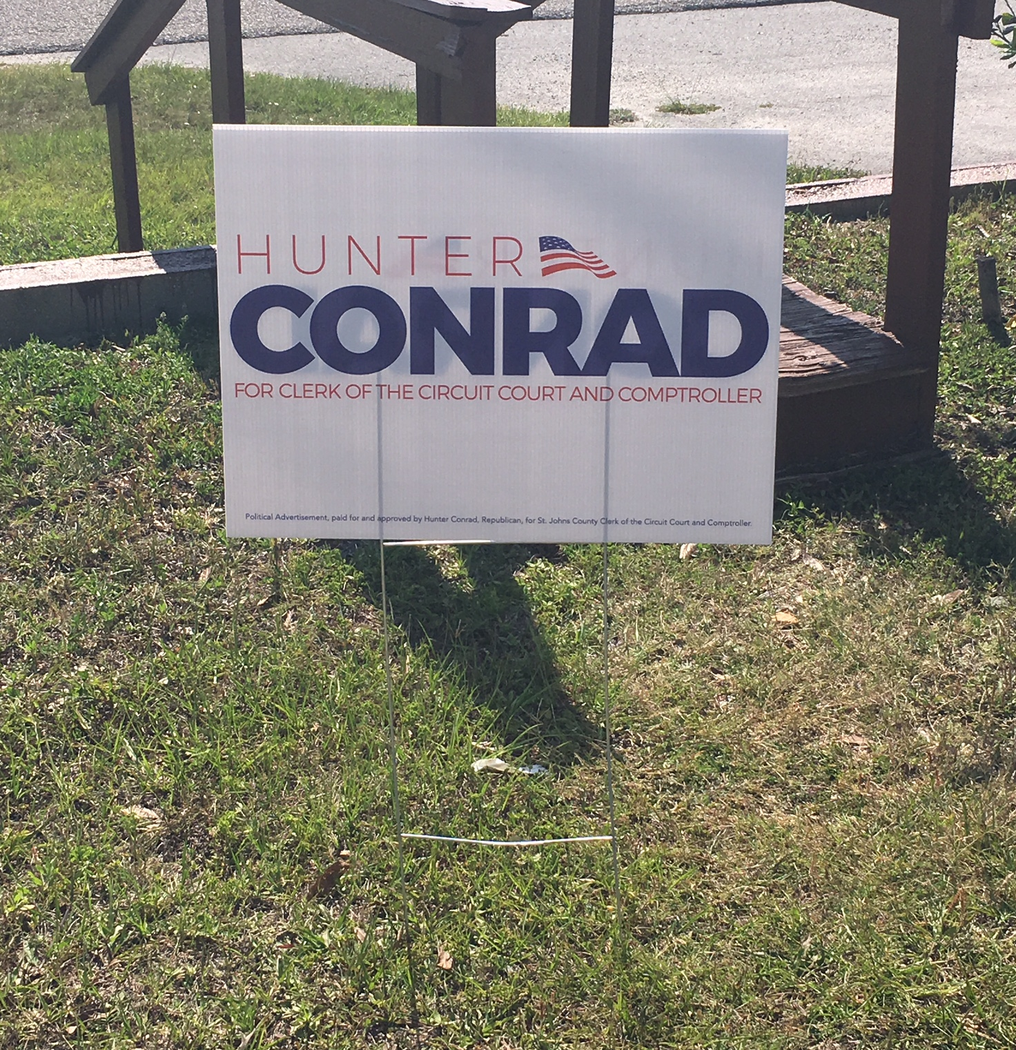 Political Campaign Yard Sign