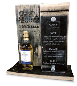 Whiskey barrell stave table stand