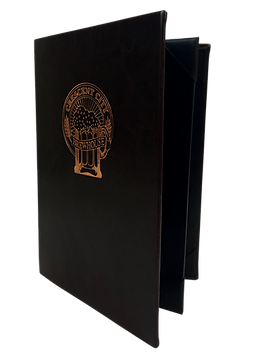 Simulated Leather Menu Covers