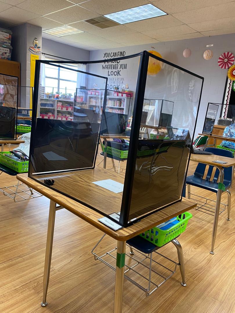 Classroom DeskShields