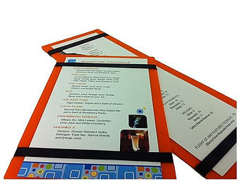 Acrylic Menu Boards
