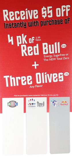 Red Bull Sign by Dobbs Global