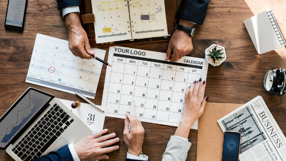 How to Use Calendars to Brand Yourself