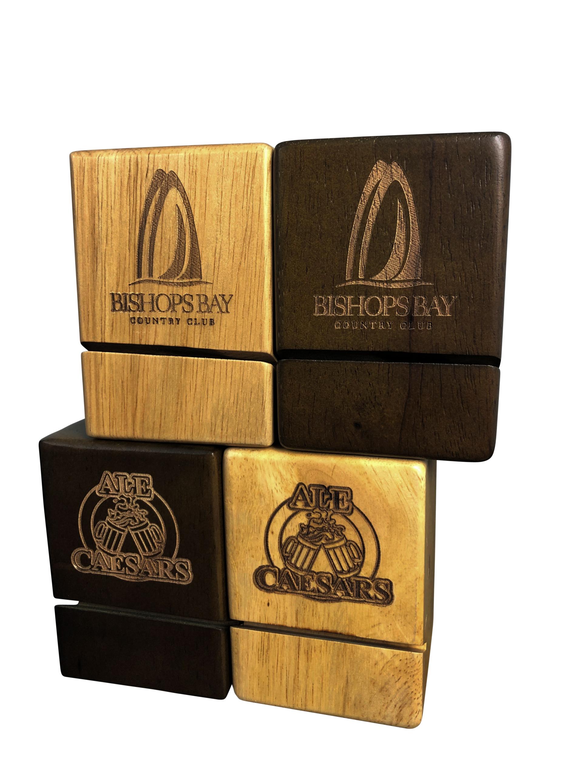 Wood Block Check Presenter