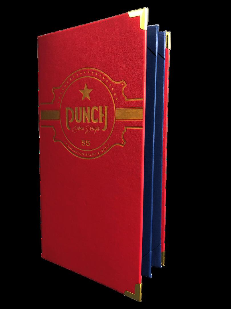 Custom Menu Covers & Drink Books