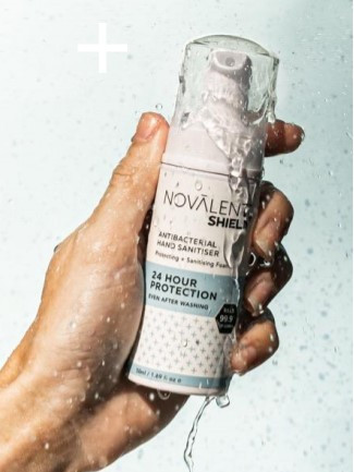 Pocket sized, handheld 24 hour hand sanitizer! Kills 99.9% of germs for up to 24 hours for long lasting protection.