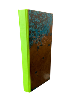 Key Lime Spine Wrap Simulated Leather Menu by Menu Designs
