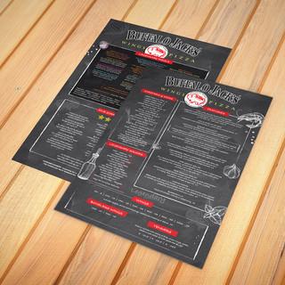 Printed Menus by Menu Designs