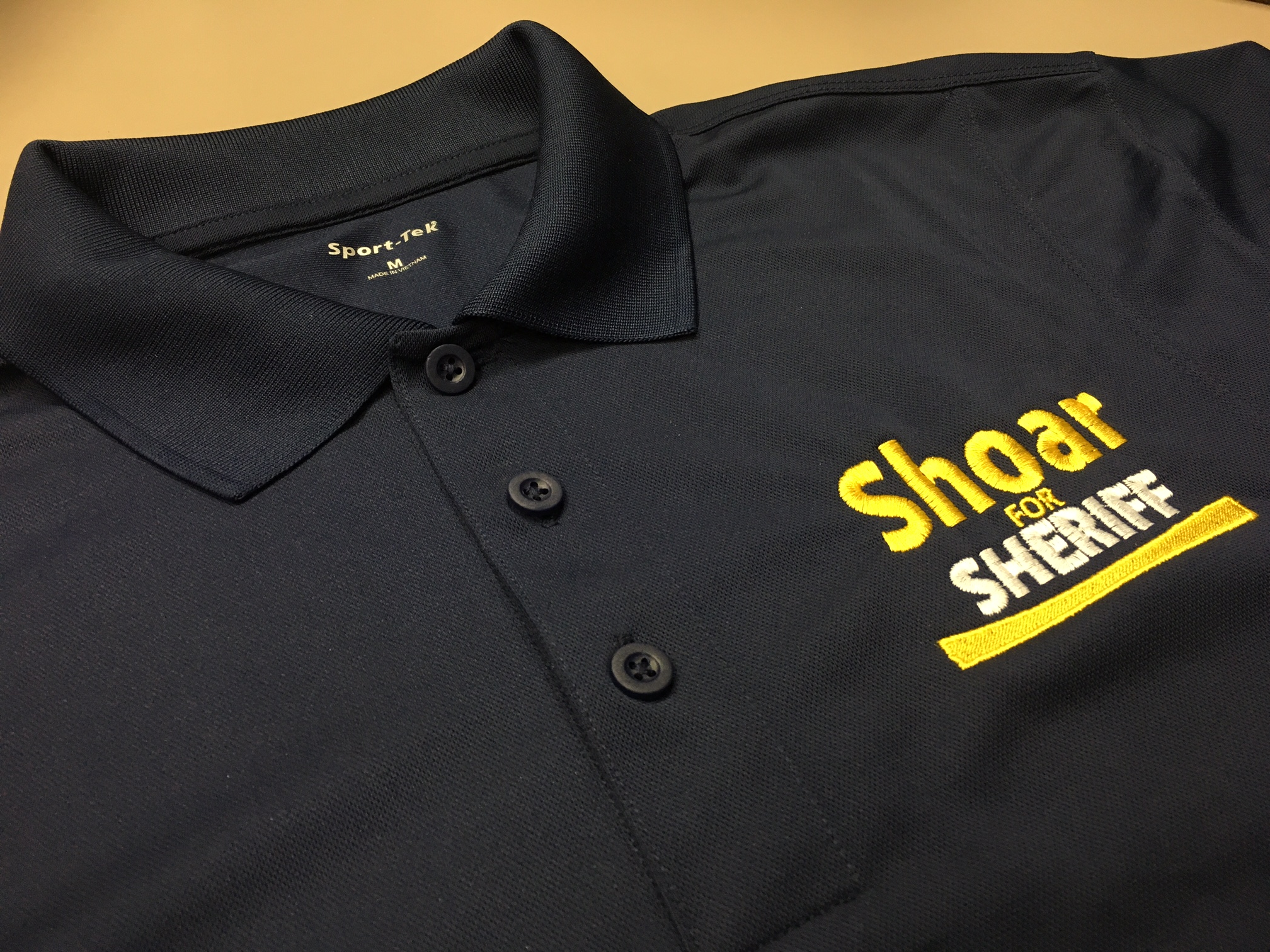 Shoar for Sheriff Polo