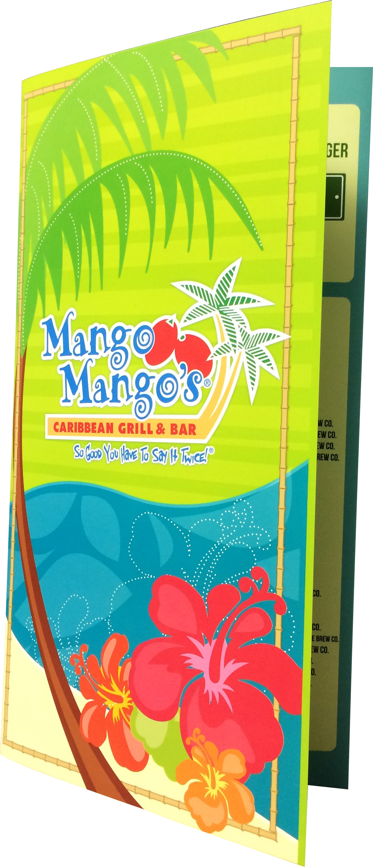Mango Mangos Synthetic menu