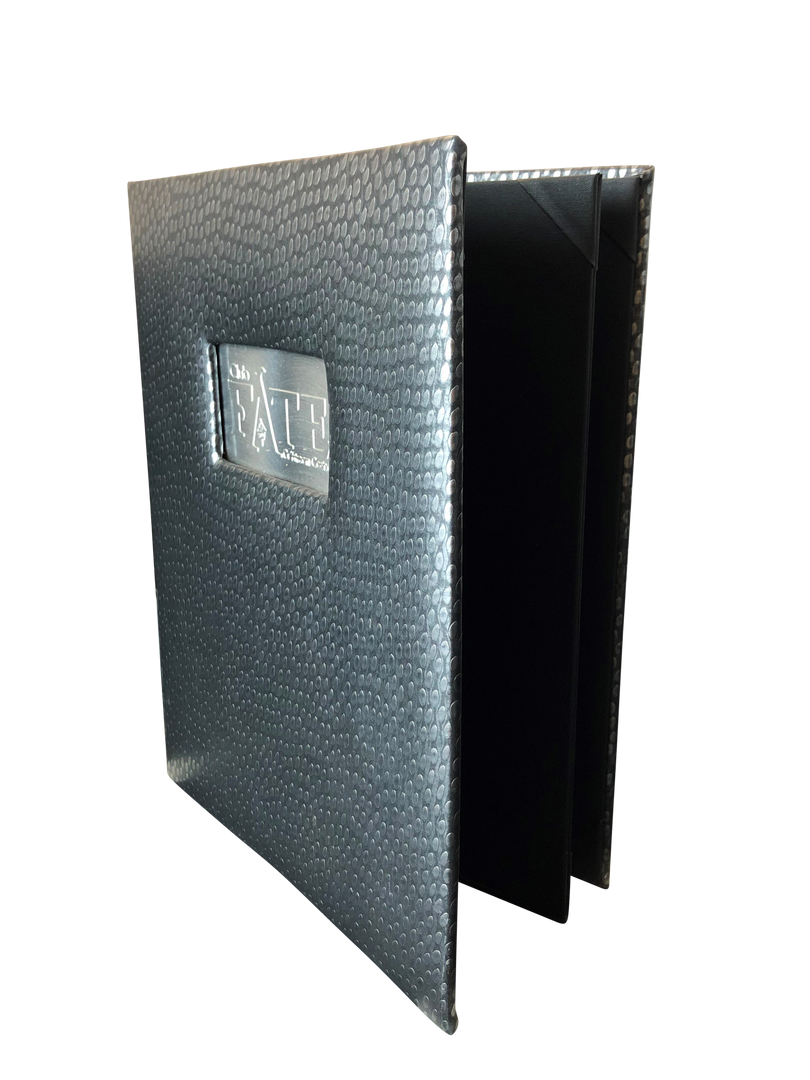 Aluminum Menu Covers & Aluminum Drink Books
