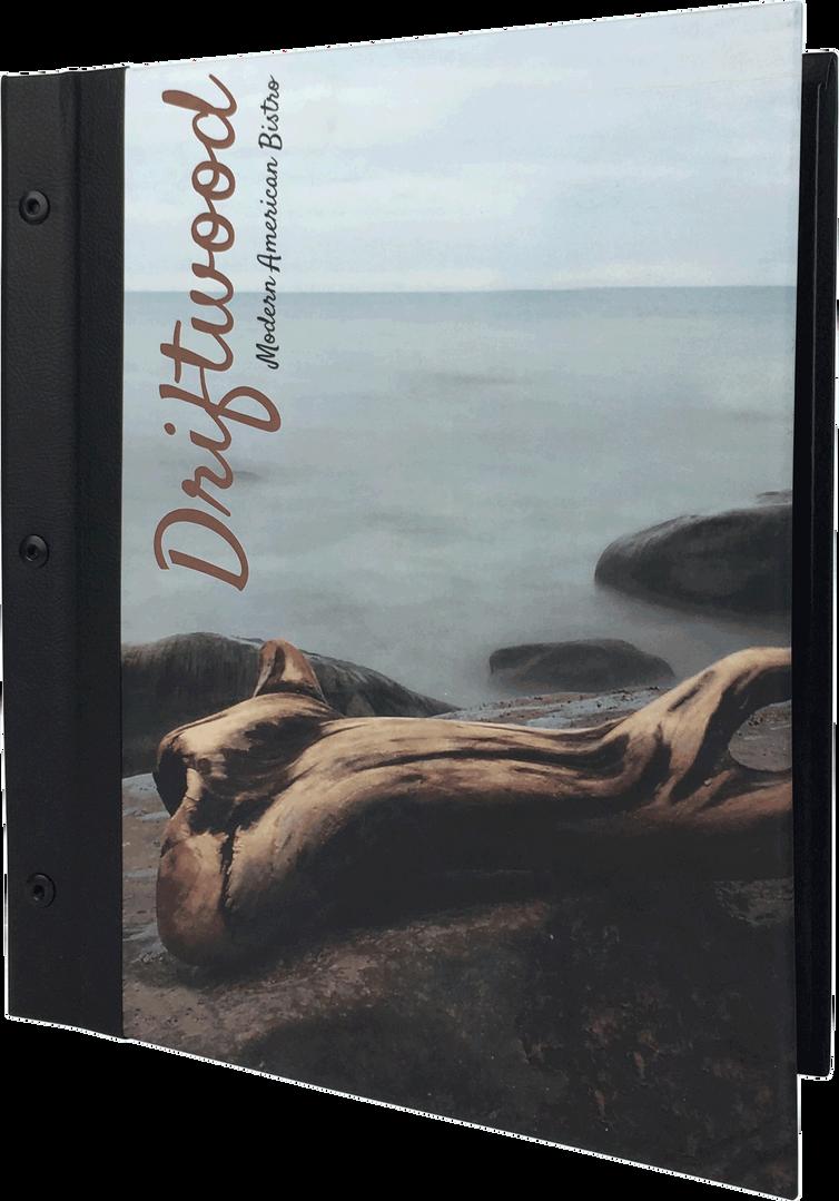 Litho Print Menu Covers