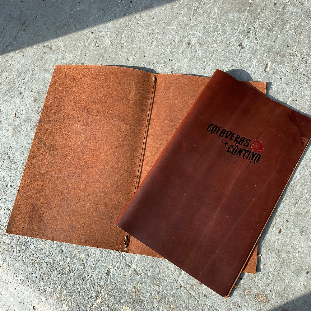 Genuine Leather Menu
