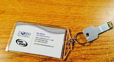 USB Key Chain by Dobbs Global