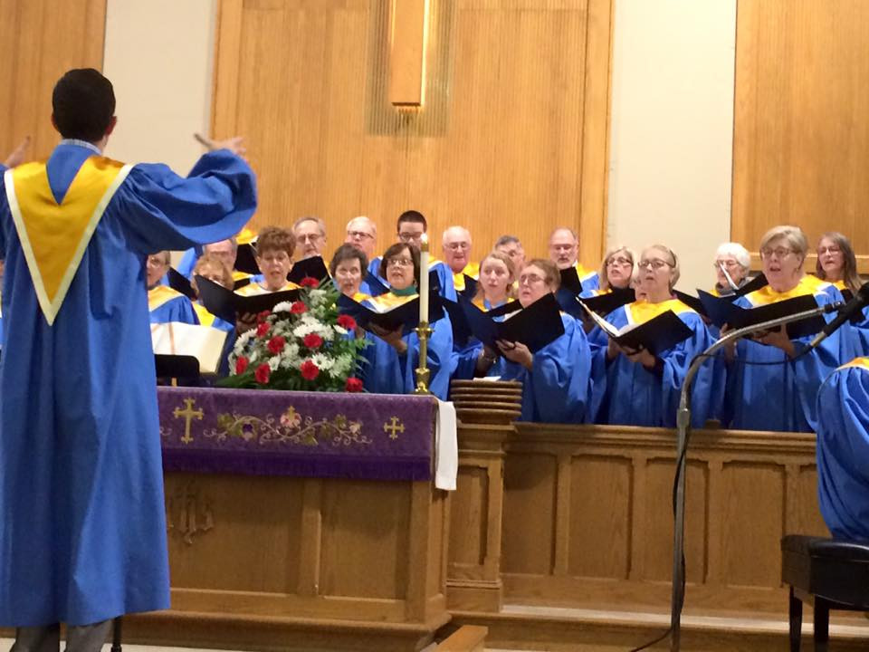 The CT Chancel Choir performs another stirring anthem!