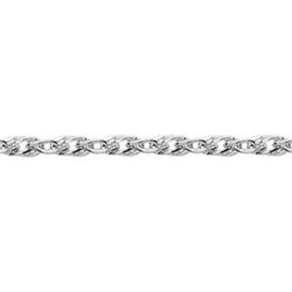 1.3mm Singapore Style Sterling chain