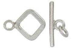 Fine silver Toggle clasp