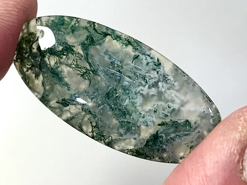 Loose Green Moss Agate #1080