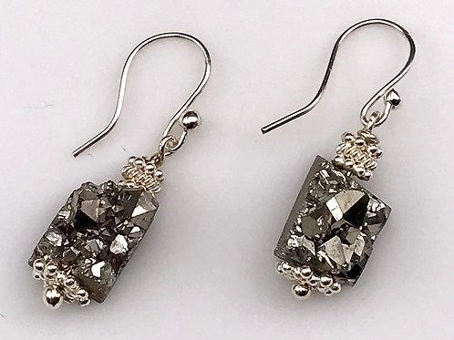 Titaniam Druzy earrings