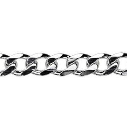 3.7mm Diamond Cut Curb chain