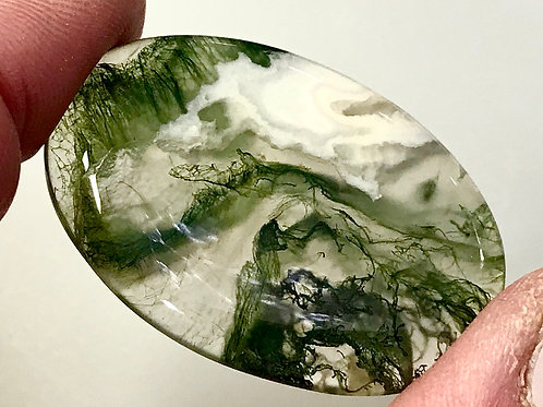 Loose Green Moss Agate #079