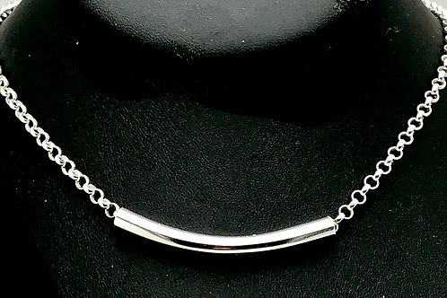 Sterling and Fine silver necklace