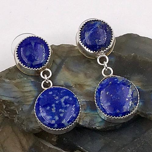 Natural Lapis earrings
